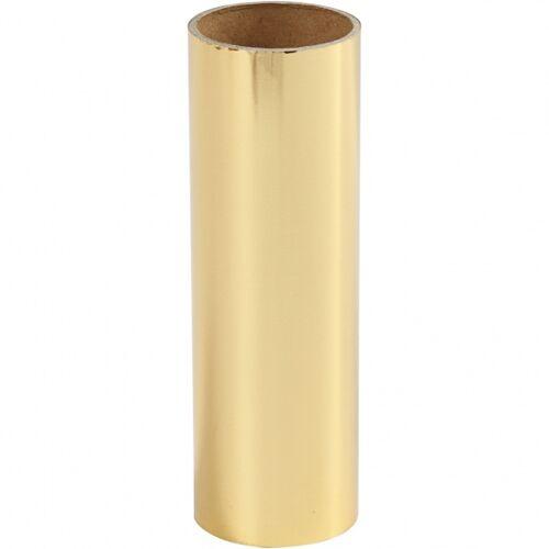 Creotime decoratiefolie goud 15,5 x 50 cm - Goud