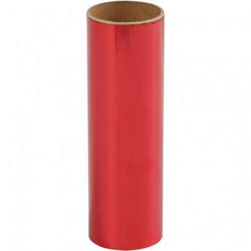 Creotime decoratiefolie rood 15,5 x 50 cm - Rood