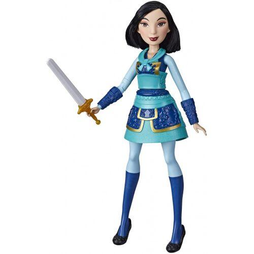 Disney speelfiguur Mulan meisjes 30 cm blauw - Blauw