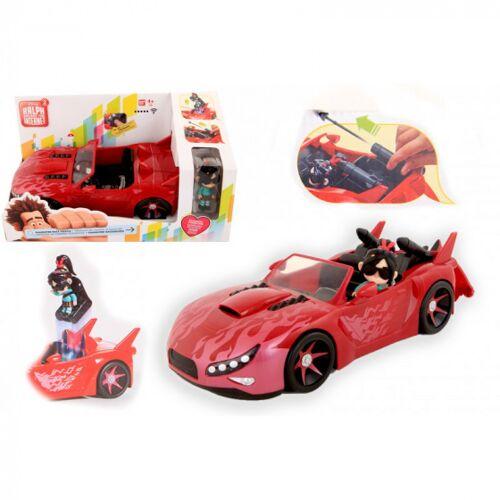 Disney Wreck it Ralph 2 auto met speelfiguur 36x20,5x15,5 cm - Rood