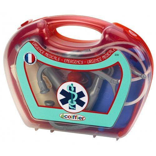 écoiffier Medical: dokterskoffer kunststof rood 14 delig - Rood