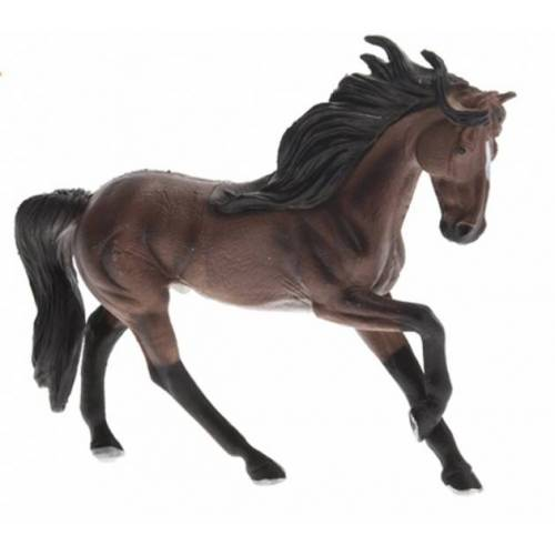 Free and Easy Paard 16cm donkerbruin - Donkerbruin