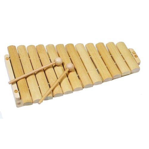 Goki Houten Xylofoon: Blank 34,5 cm - Blank