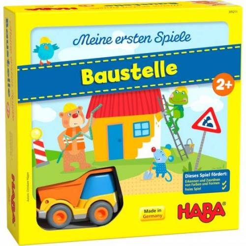 Haba kinderspel Mijn eerste spellen – Bouwplaats (DU) - Multicolor