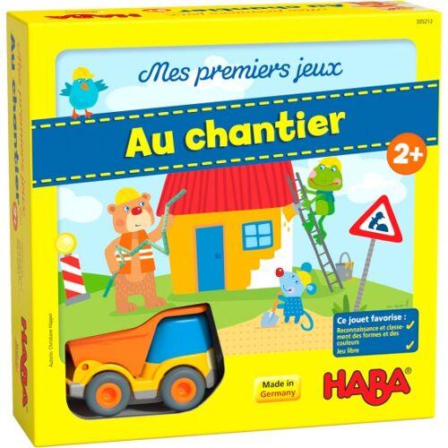 Haba kinderspel Mijn eerste spellen – Bouwplaats (FRA) - Multicolor
