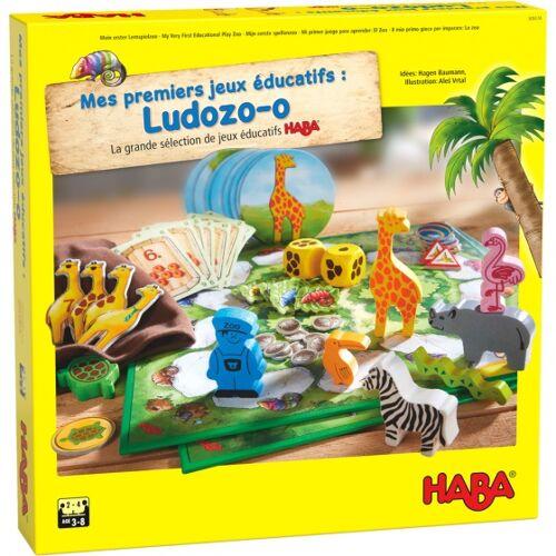 Haba kinderspel Mijn eerste spellenzoo (FRA) - Multicolor