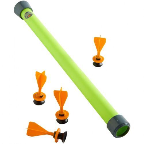Haba Terra Kids blaaspijp 39 cm groen met pijlen 5 delig - Groen