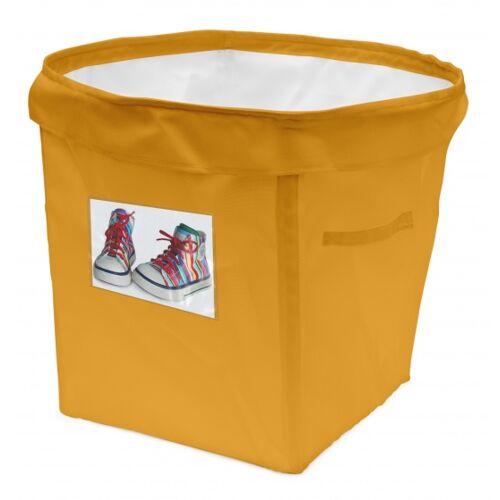 ACHOKA persoonlijke opbergbox 35 liter geel - Geel