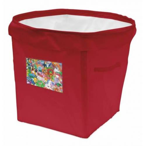 ACHOKA persoonlijke opbergbox 35 liter rood - Rood