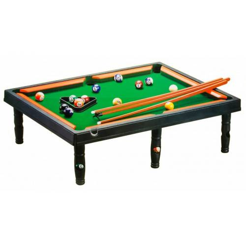 LG-Imports LG Imports tafelbiljart snooker 49 x 36 cm zwart/groen - Multicolor