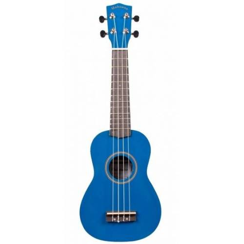 Makawao ukelele UK 10BU sopraan hout 55,5 cm blauw - Blauw