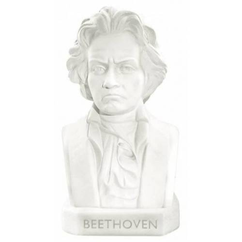 Moses gum Beethoven 5 cm wit - Wit