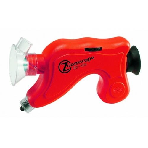 Navir microscoop Zoomscope 16 cm rood - Rood