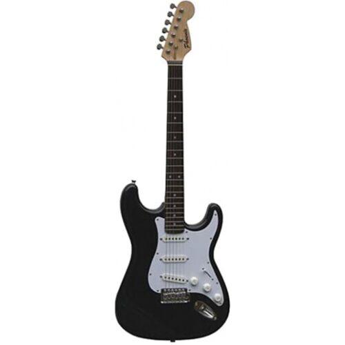 Phoenix elektrische gitaar kit STC150 97 cm zwart/wit - Zwart,Wit
