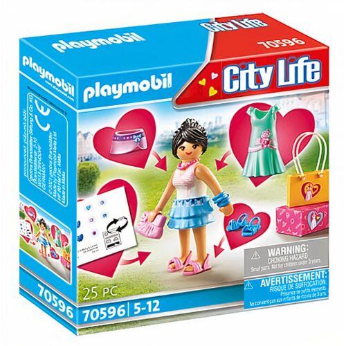 PLAYMOBIL City Life Modemeisje (70596) - Multicolor