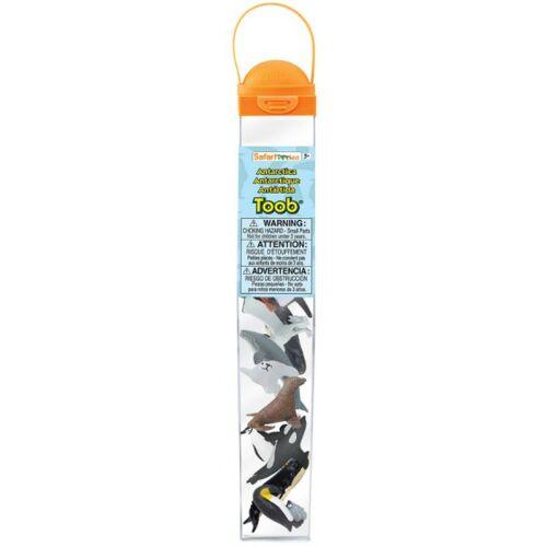 Safari speeldieren Antarctica 3 5 cm 10 stuks - Multicolor