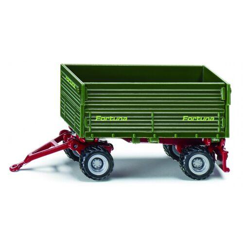Siku twee as aanhangwagen groen (1077) - Groen