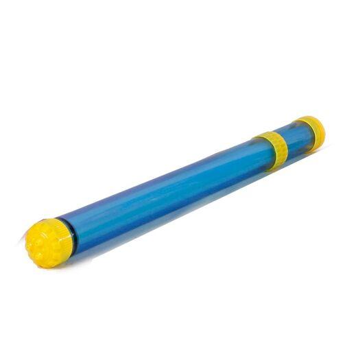 SuperSplash waterpistool 3 stralen met licht 48 cm blauw - Blauw