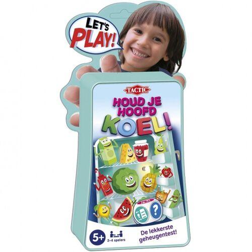 Tactic geheugenspel Let's Play houd je hoofd koel - Groen