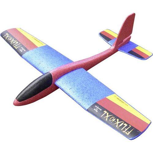TOM zweefvliegtuigje Felix iQ XL polypropyleen 84 cm blauw/rood - Blauw,Rood