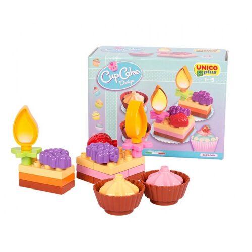 Unico bouwpakket gebakjes 21 delig - Multicolor