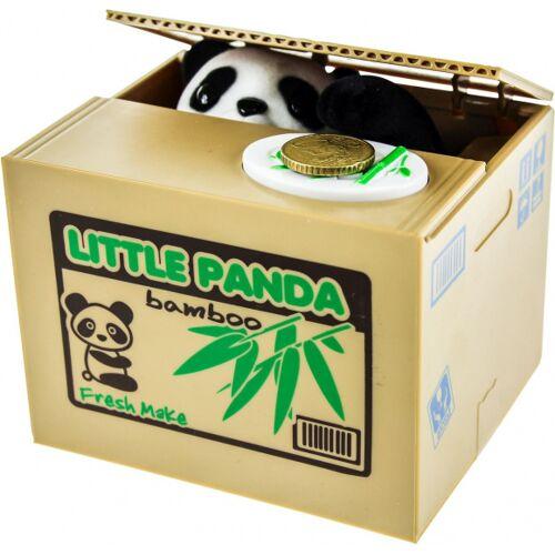 United Entertainment United Entertainment Spaarpot Panda Bank - Zwart