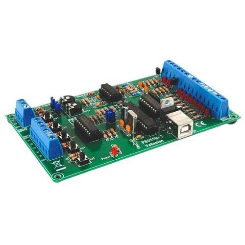 Velleman interfacekaart USB 70 mA 145 x 89 x 20 mm groen - Groen
