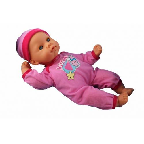 Falca babypop BabyCare 33 cm meisjes roze - Roze