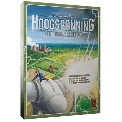 999 Games bordspel Hoogspanning: Benelux - Groen