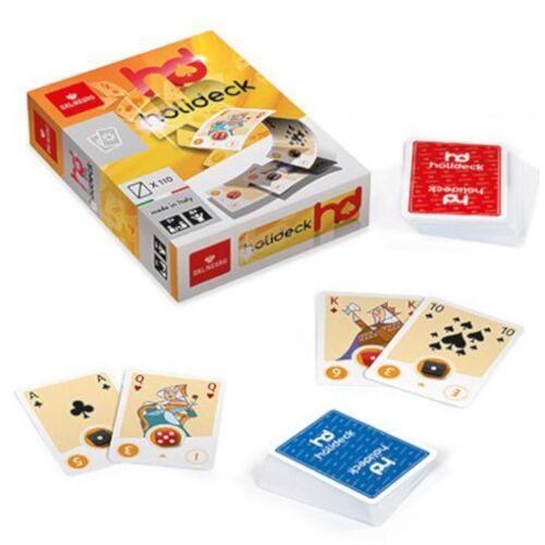 Dal Negro kaartspellen Holideck 6,3 x 8,8 cm karton geel 110 stuks - Geel