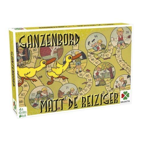 Selecta gezelschapsspel Spellen van toen: Matt de Reiziger/Ganzenbord - Multicolor