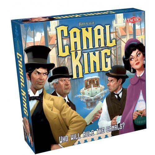 Tactic bordspel Canal King Brugge karton 179 delig - Multicolor