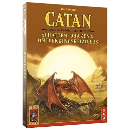 999 Games bordspel Catan: Schatten, Draken & Ontdekkingsreizigers - Multicolor