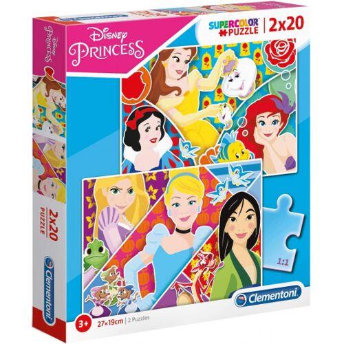 Clementoni legpuzzel Princess junior karton 40 stukjes - Multicolor