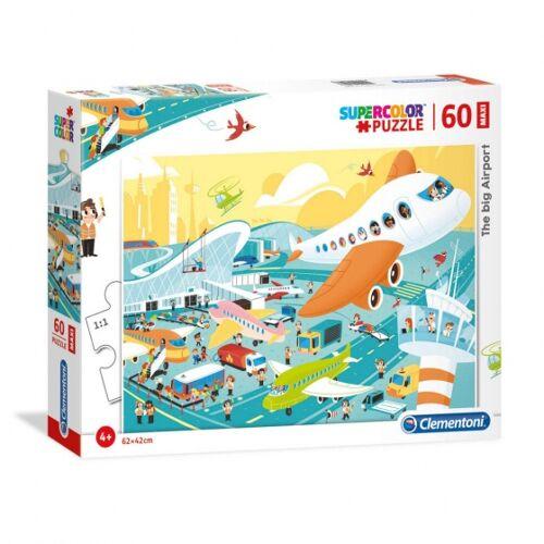 Clementoni legpuzzel The Big Airport 60 stukjes - Multicolor