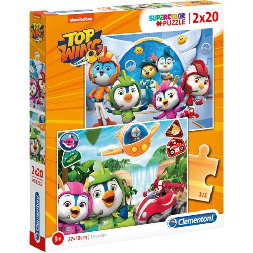 Clementoni legpuzzel Top Wing junior karton 40 stukjes - Multicolor