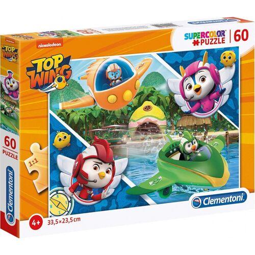 Clementoni legpuzzel Top Wings Vliegen junior karton 60 stukjes - Multicolor