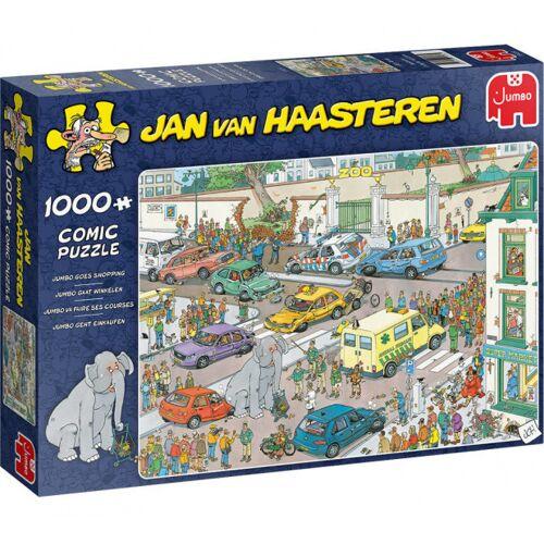Jumbo legpuzzel Jan van Haasteren Jumbo Gaat Winkelen 1000 st. - Multicolor
