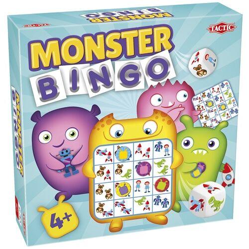 Tactic kinderspel Monster Bingo - Multicolor