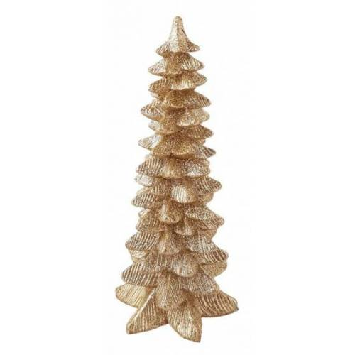 Peha decoratie-kerstboom 20 cm champagne - Champagne