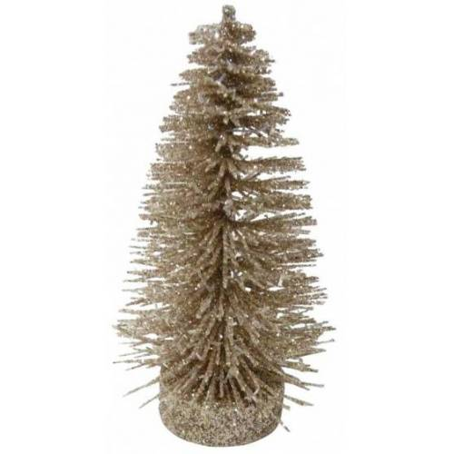 Peha kerstboom 13 cm champagne - Champagne