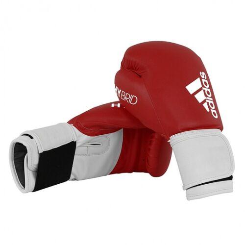 Adidas Bokshandschoenen Hybrid Leer Maat 8oz Rood