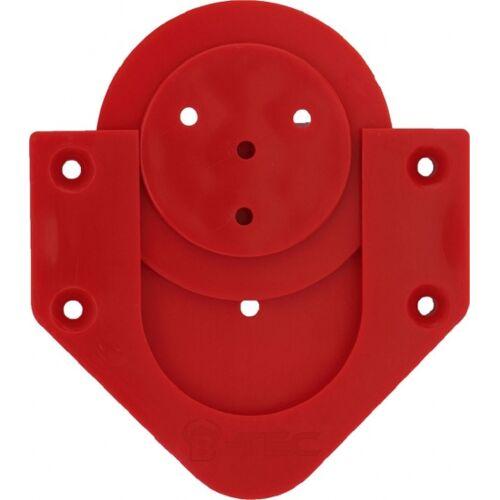 Bull's dartbord houder rood - Rood