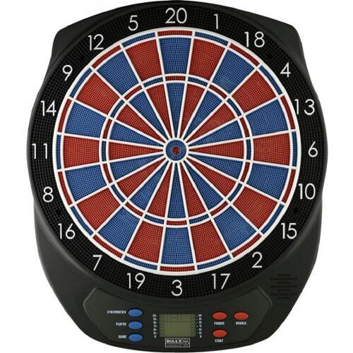 Bull's elektronisch dartbord 51 x 43 cm blauw/rood 20 delig - Blauw,Rood