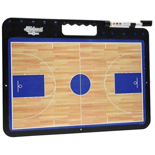 Midwest coachbord basketbal 42 x 32 cm bruin - Bruin
