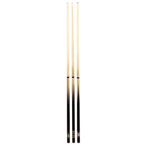 Abbey Game biljartkeu 140 cm hout wit/zwart - Wit,Zwart
