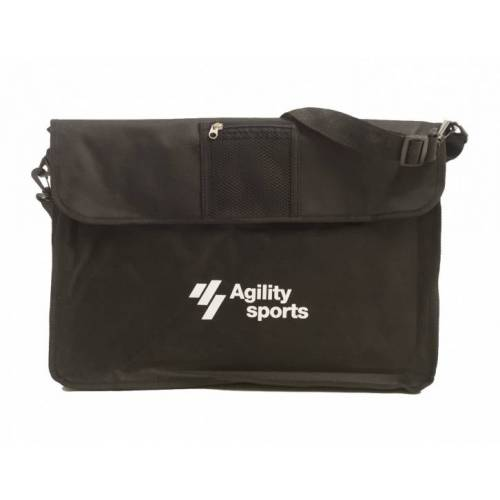 Agility Sports tas voor coachbord 45 cm zwart - Zwart