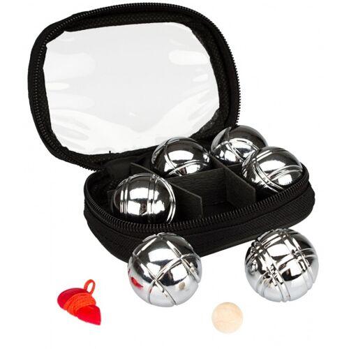 Get & Go Mini Jeu De Boules Set 6 Ballen Chroom - Chroom