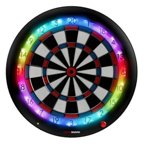 GranBoard elektronisch dartbord 3s 60 cm blauw/rood 4 delig - Zwart,Wit,Blauw,Rood
