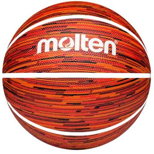 Molten basketbal BF1600 outdoor rubber - Oranje